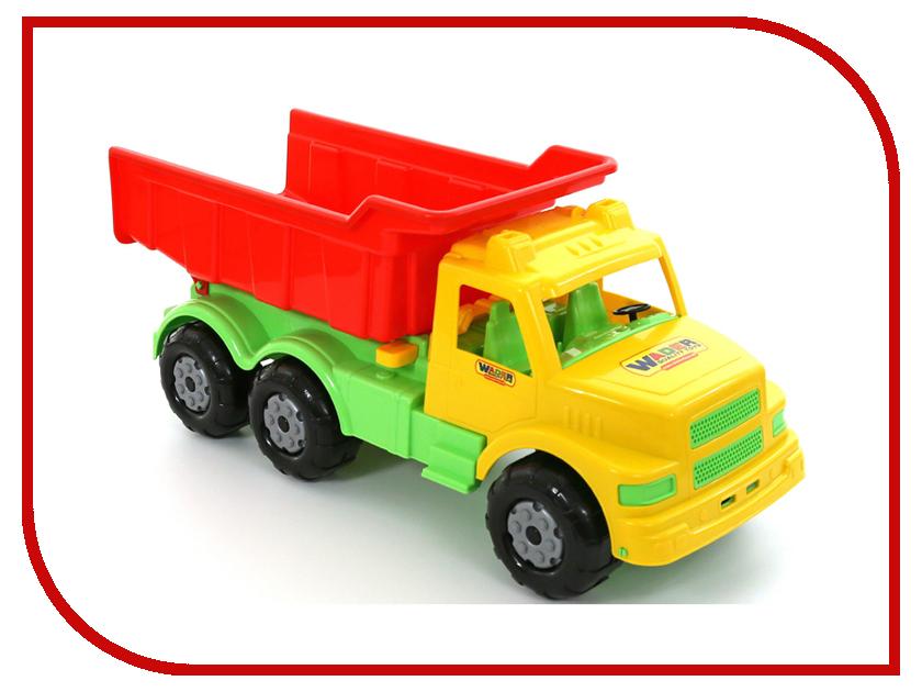 Машина Полесье Буран №1 самосвал Yellow-Red 43627 легковой автомобиль полесье жук 0780