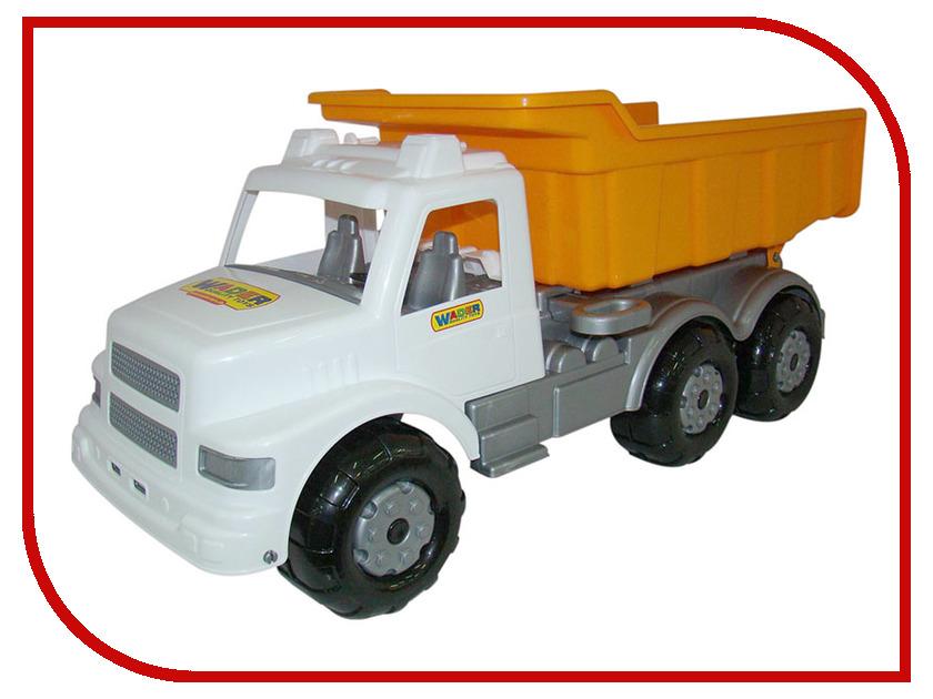 Машина Полесье Буран дорожный White-Orange 43689 легковой автомобиль полесье жук 0780