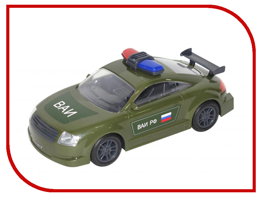 Машина Полесье Военная автоинспекция 48684 полесье автомобильвоенная автоинспекция инерц полесье
