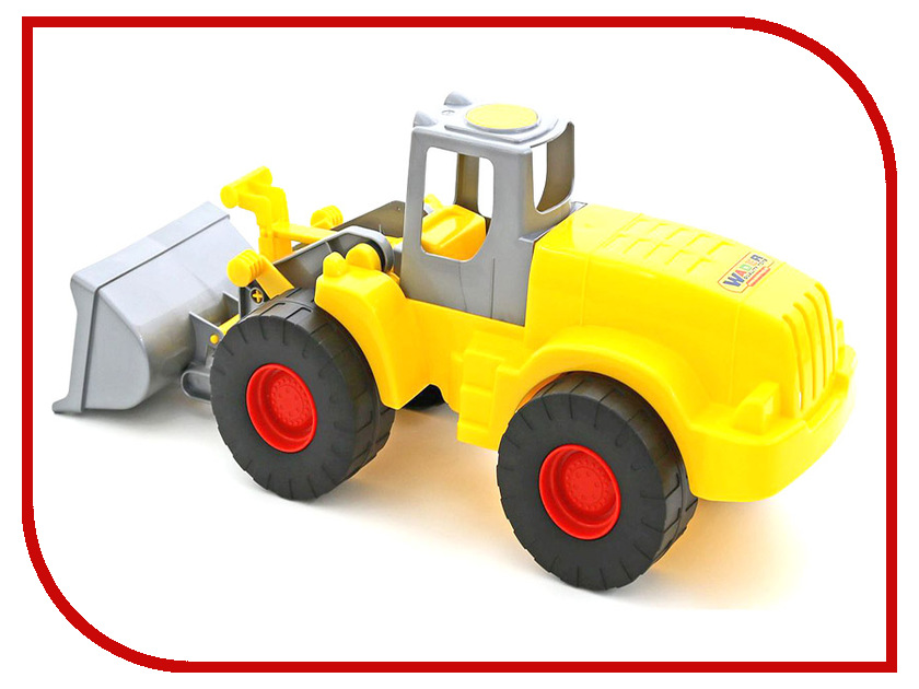 Машина Полесье Гранит трактор-погрузчик 38272 машина детская полесье полесье набор автомобиль трейлер трактор погрузчик