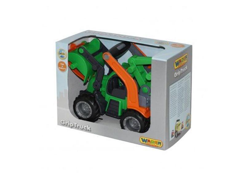 Игрушка Полесье ГрипТрак трактор-погрузчик 48387 цена