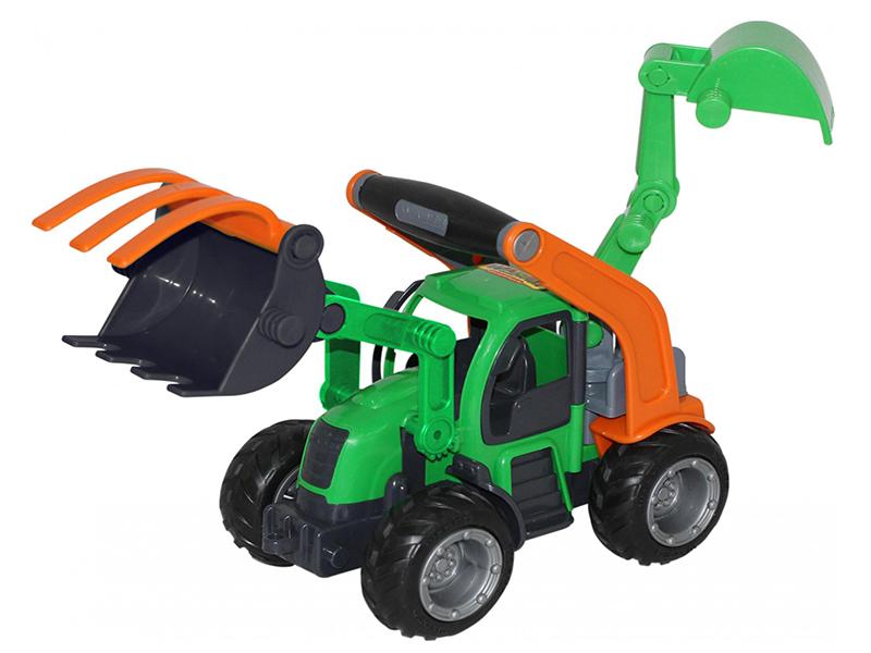 Игрушка Полесье ГрипТрак трактор-погрузчик с ковшом 48394