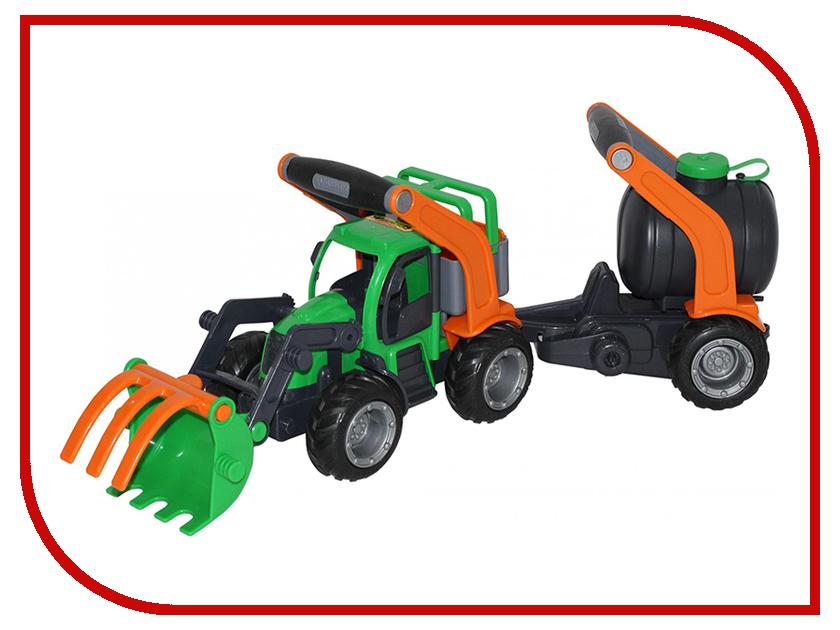 Игрушка Полесье ГрипТрак трактор-погрузчик с цистерной 48424 kingcamp ultra light folding table