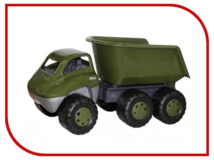 Машина Полесье Военный с прицепом (48721) 83 см полесье конструктор автомобиль легковой с прицепом