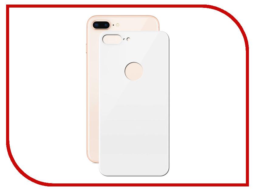 Аксессуар Защитное стекло LuxCase 3D Back для APPLE iPhone 8/7 Plus White 77705 аксессуар защитное стекло monsterskin 3d curved для apple iphone 7 plus white