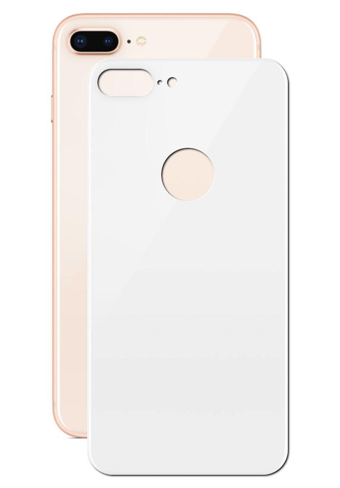 Аксессуар Защитное стекло LuxCase для APPLE iPhone 8/7 Plus 3D Back White 77705 аксессуар защитное стекло luxcase 3d back для apple iphone 8 7 gold 77703