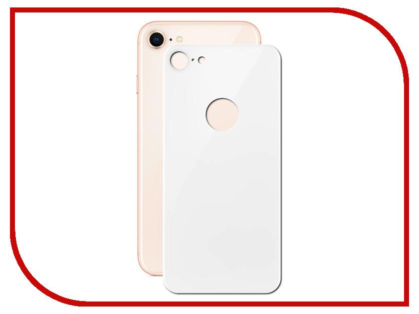 Аксессуар Защитное стекло LuxCase 3D Back для APPLE iPhone 8/7 White 77701 аксессуар защитное стекло luxcase 3d для apple iphone 6 6s white 77305