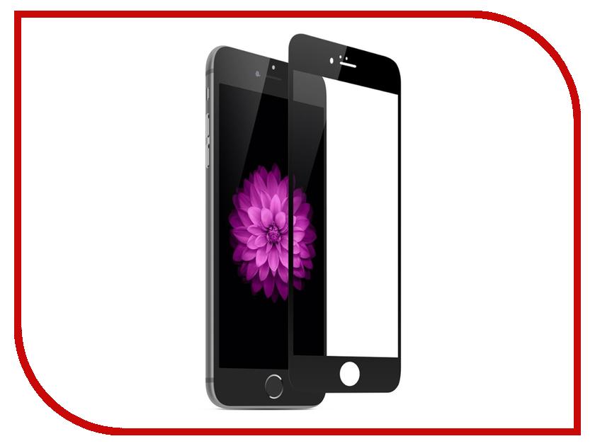 Аксессуар Защитное стекло LuxCase 3D для APPLE iPhone 6/6S Plus Black Frame 77308 аксессуар защитное стекло luxcase 3d для apple iphone 8 7 6 black frame 77312