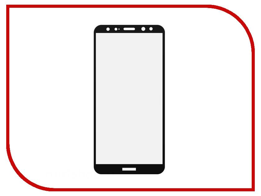 Аксессуар Защитное стекло Huawei Mate 10 Lite LuxCase 2.5D Full Screen Black Frame 77849 аксессуар защитное стекло highscreen fest xl pro luxcase 0 33mm 82179