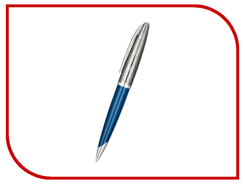 Waterman Carene Deluxe Obsession Blue Lacquer Gunmetal 1904571 ручка waterman s0952360