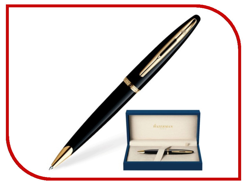 Ручка Waterman Carene Black Sea GT S0700380 waterman шариковая ручка waterman s0700380