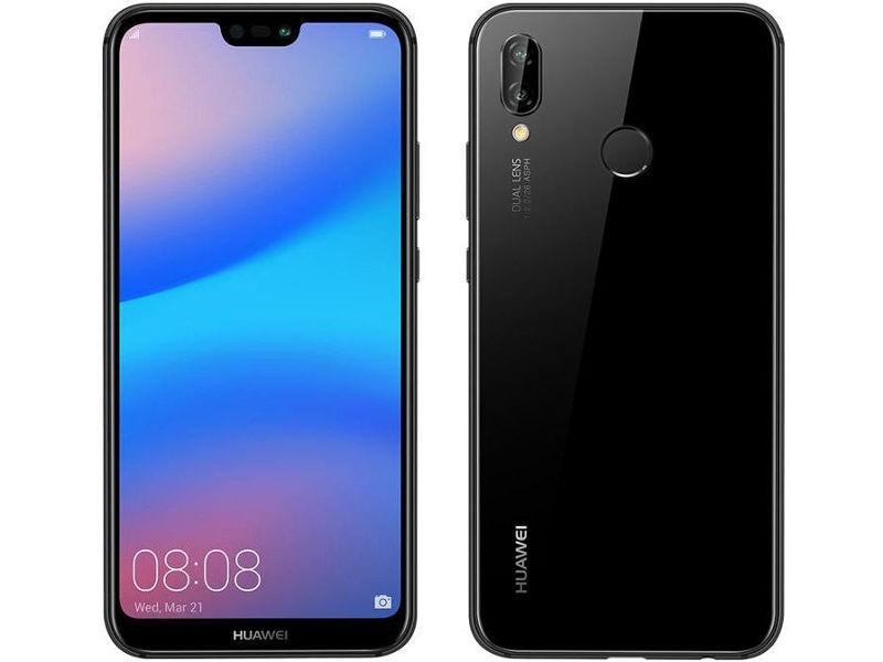 Сотовый телефон Huawei P20 Lite Black цена