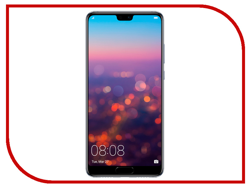 Сотовый телефон Huawei P20 Blue телефон