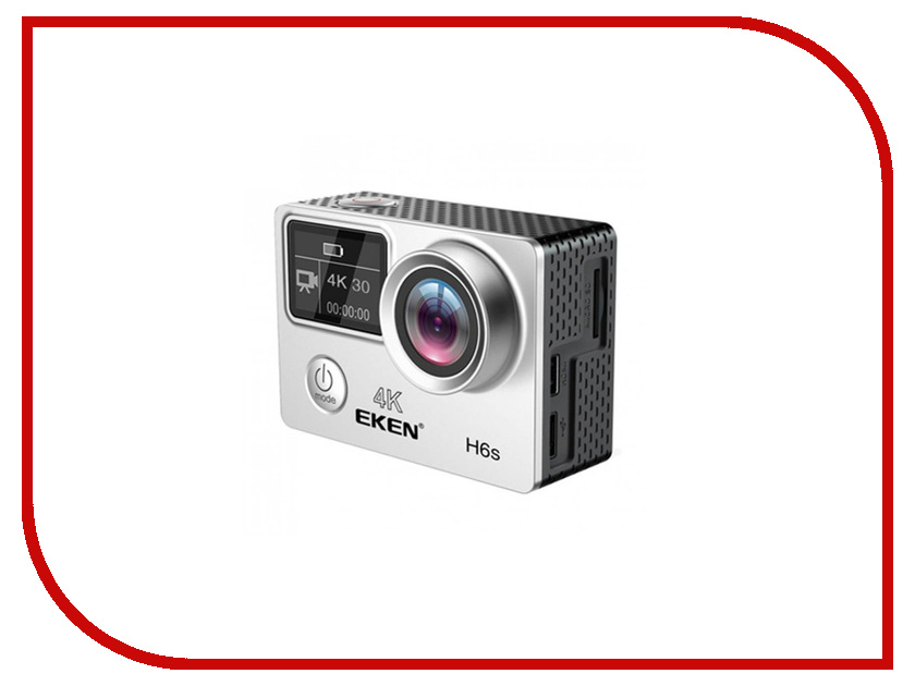 Фото Экшн-камера EKEN H6S Silver