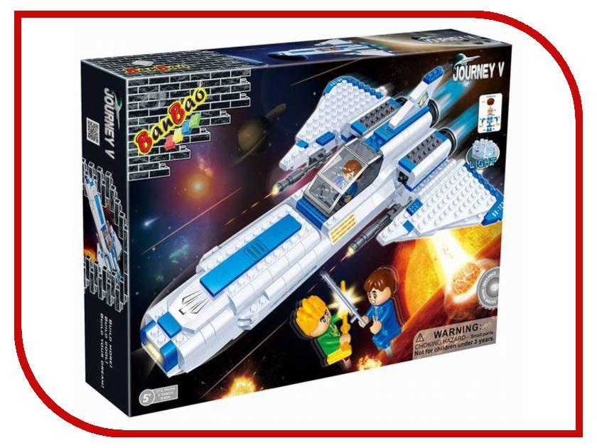 Конструктор BanBao Космический летательный аппарат 382 дет. 6406 / 55665 банбао игрушка пластм конструктор космический летательный аппарат 237 дет banbao