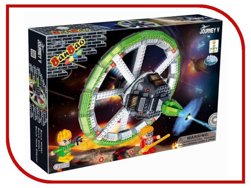 Конструктор BanBao Космический летательный аппарат 512 дет. 6405 / 53105 banbao конструктор космический летательный аппарат