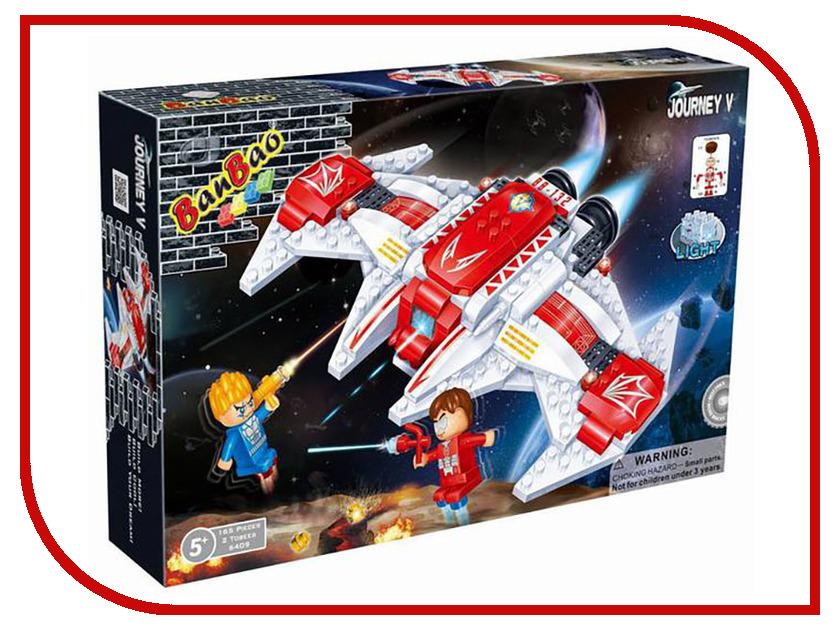 Конструктор BanBao Космический летательный аппарат 168 дет. 6409 / 53106 банбао игрушка пластм конструктор космический летательный аппарат 237 дет banbao