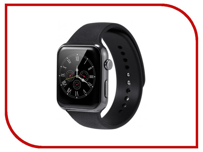 Умные часы КАРКАМ A9 Black Leather