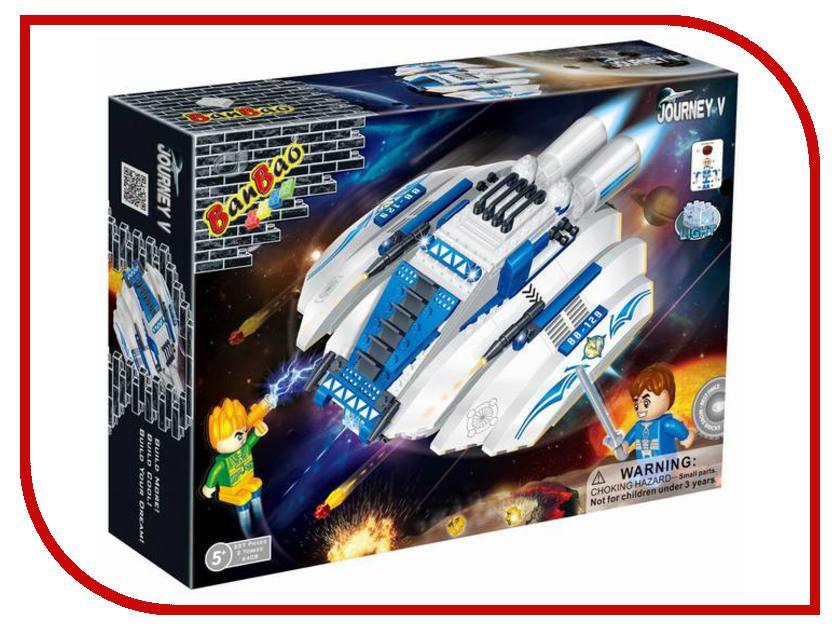 Конструктор BanBao Космический летательный аппарат 237 дет. Blue 6408 / 52937 banbao 6408
