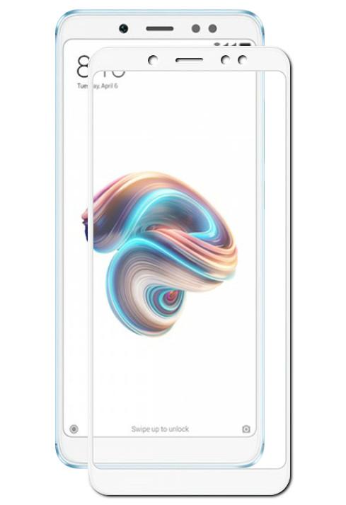 Аксессуар Защитное стекло Mobius для Xiaomi Redmi Note 5/5 Pro 3D Full Cover White аксессуар защитное стекло solomon для xiaomi redmi note 5 full cover white 3886