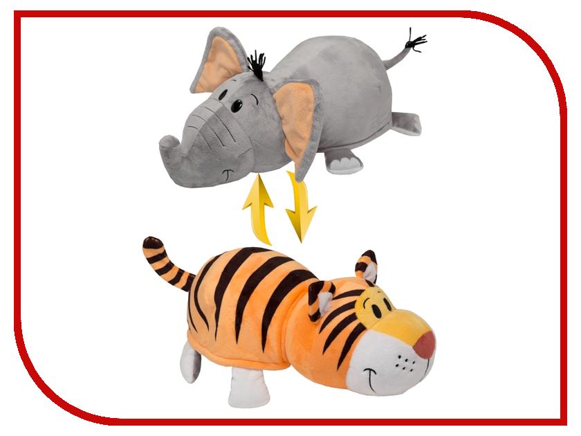 Игрушка 1Toy Вывернушка 2в1 Тигр - Слон 40cm Т10931 цена 2017