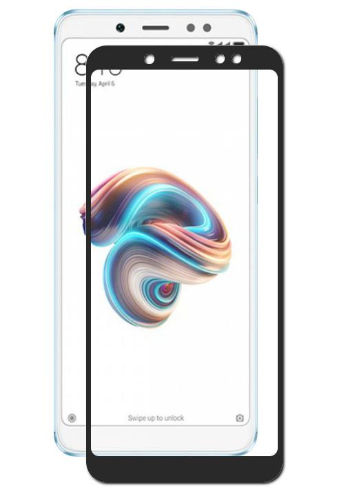 Аксессуар Защитное стекло Mobius для Xiaomi Redmi Note 5/5 Pro 3D Full Cover Black