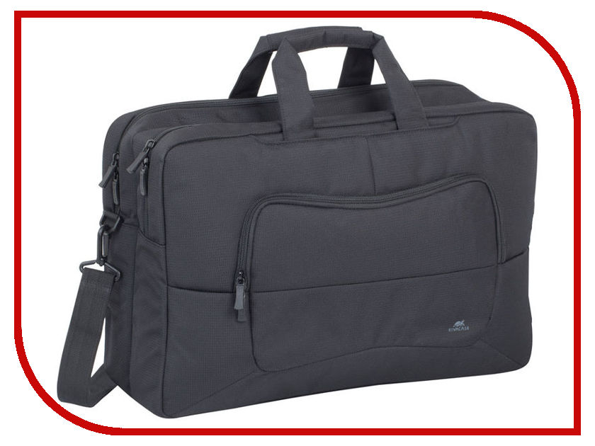 Аксессуар Сумка 17.6 RIVACASE 8455 Black аксессуар мирмагнитов сумка для поискового магнита black