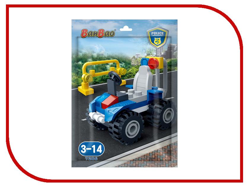 Конструктор BanBao Police - Полицейский джип 34 дет. 7206 / 296879
