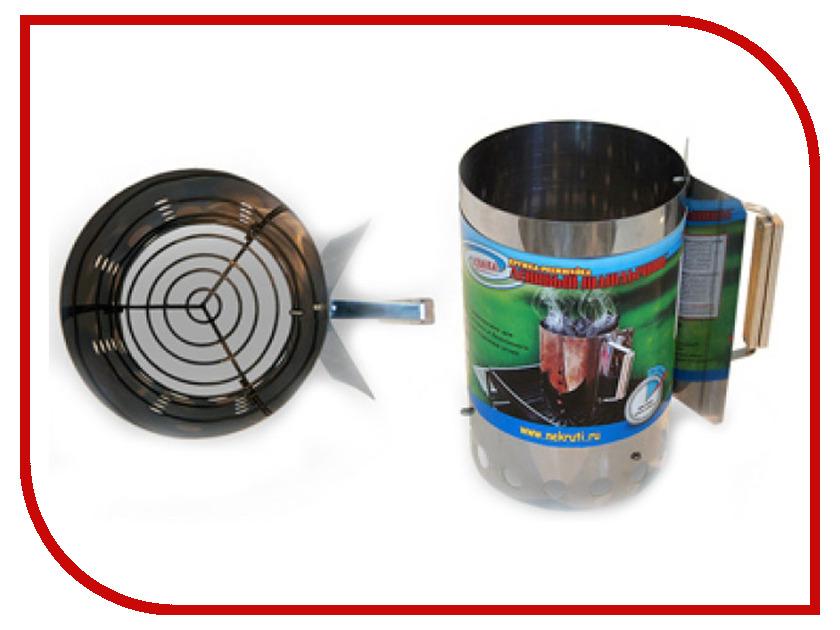 Стартер для розжига угля Ленивый шашлычник текстолитовые шестерни на стартер