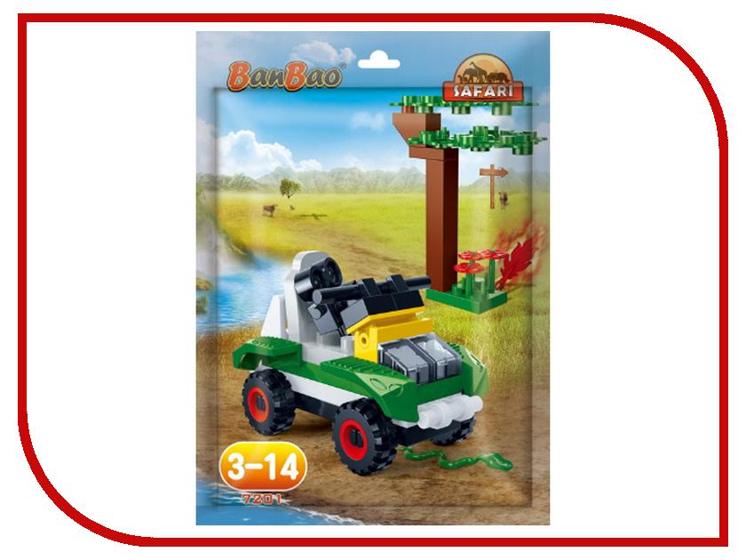 Конструктор BanBao Safari - Джип 37 дет. 7201 / 296882 конструктор banbao пожарный джип 158 элементов 8299