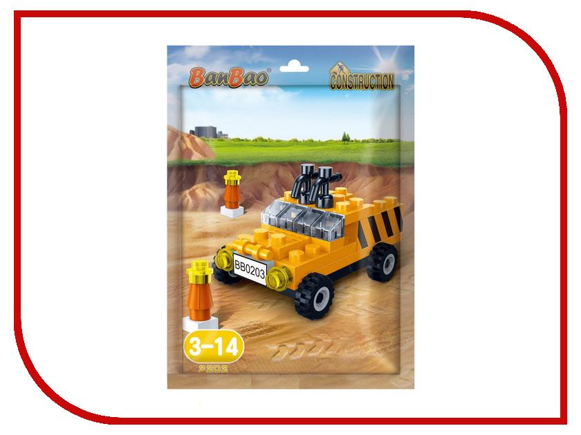 Конструктор BanBao Машина 39 дет. 7202 / 296888
