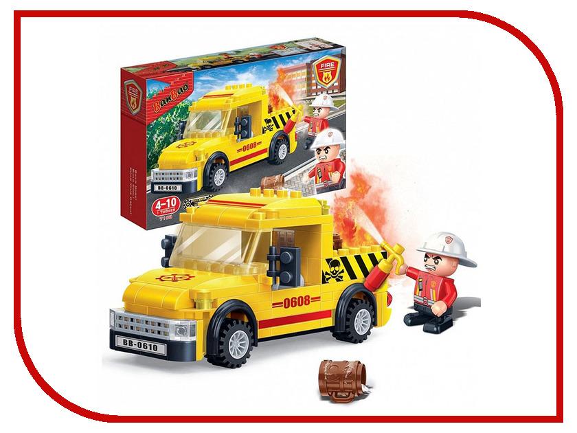 Конструктор BanBao Пожарные - Пикап 105 дет. 7108 / 294097