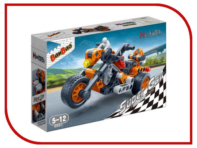 Конструктор BanBao Мотоцикл 118 дет 6961 / 294107