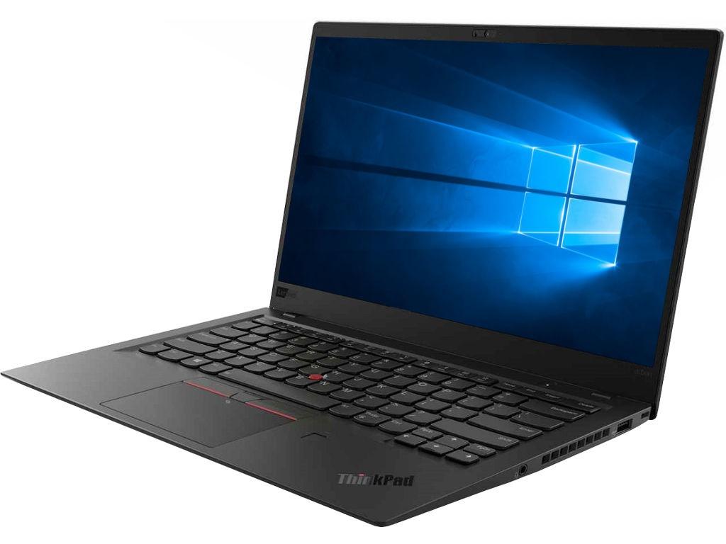 цена на Ноутбук Lenovo ThinkPad X1 Carbon 20KH003BRT (Intel Core i7-8550U 1.8 GHz/8192Mb/256Gb SSD/No ODD/Intel HD Graphics/Wi-Fi/Bluetooth/Cam/14.0/1920x1080/Windows 10 64-bit)