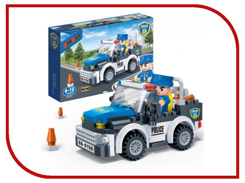 Конструктор BanBao Полицейская машина 100 дет. 7017 / 294125 технопарк полицейская часть 30413