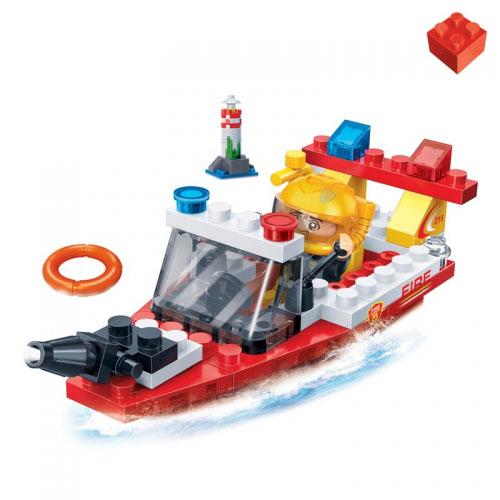 Конструктор BanBao Пожарный катер 62 дет. 7119 / 294222