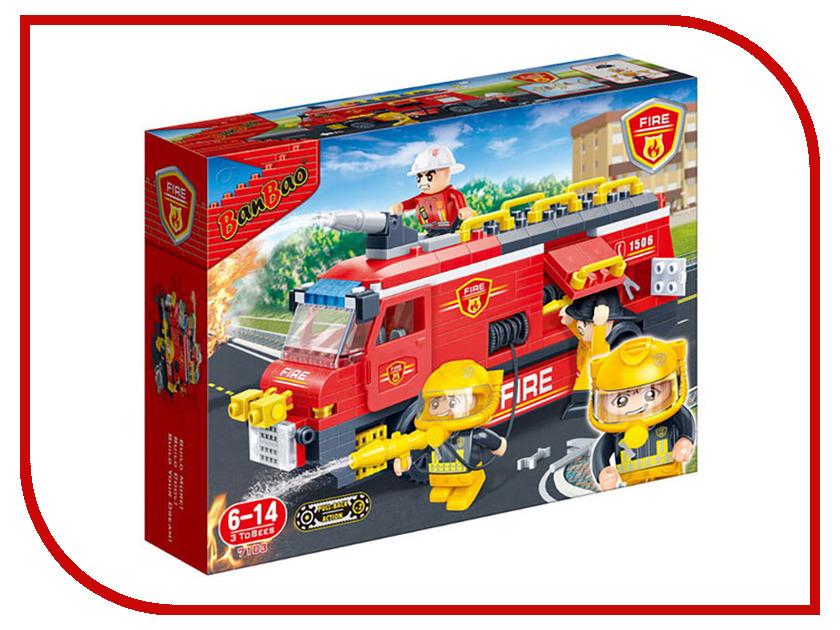 Конструктор Banbao Пожарная машина 288 дет. 7103 / 293999 smoby пожарная машина 3308358