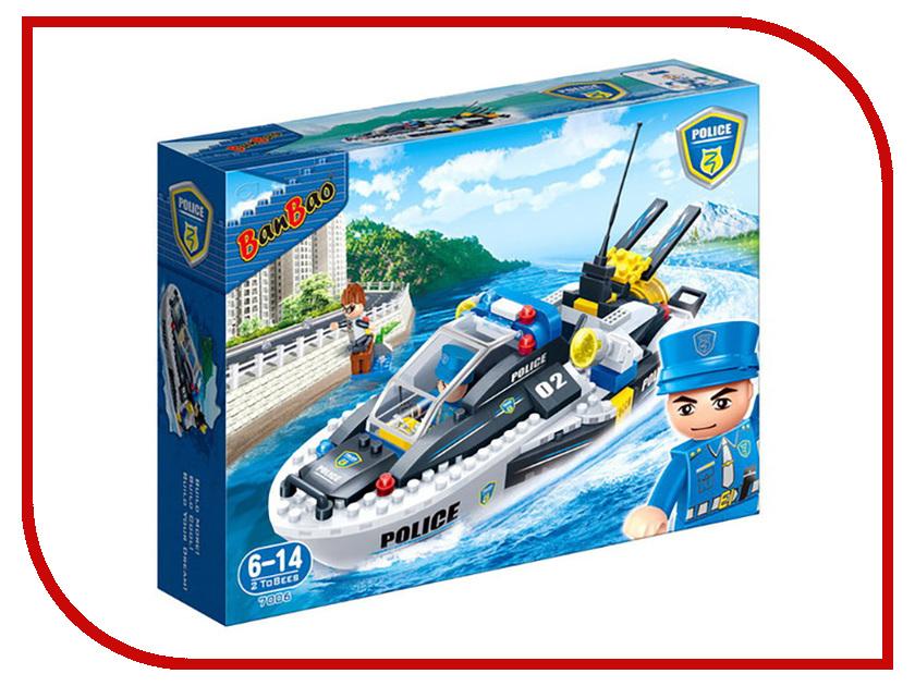 Конструктор Banbao Полицейский катер 225 дет. 7006 / 294004 конструктор lepin cities рыболовный катер 159 дет 02028