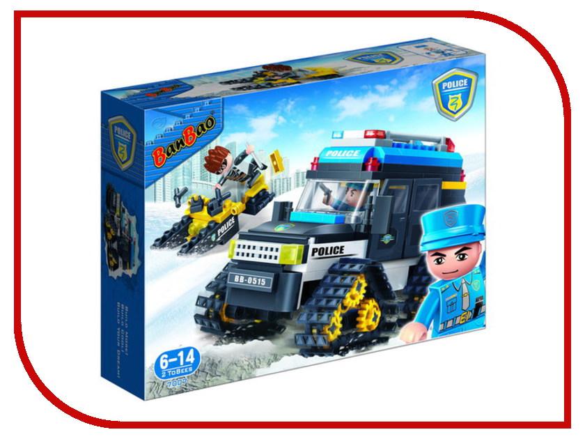 Конструктор Banbao Полицейский снегоход 315 дет. 7007 / 294017