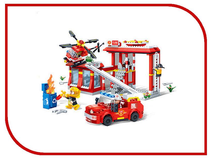 Конструктор BanBao Пожарные 7102 Пожарная станция