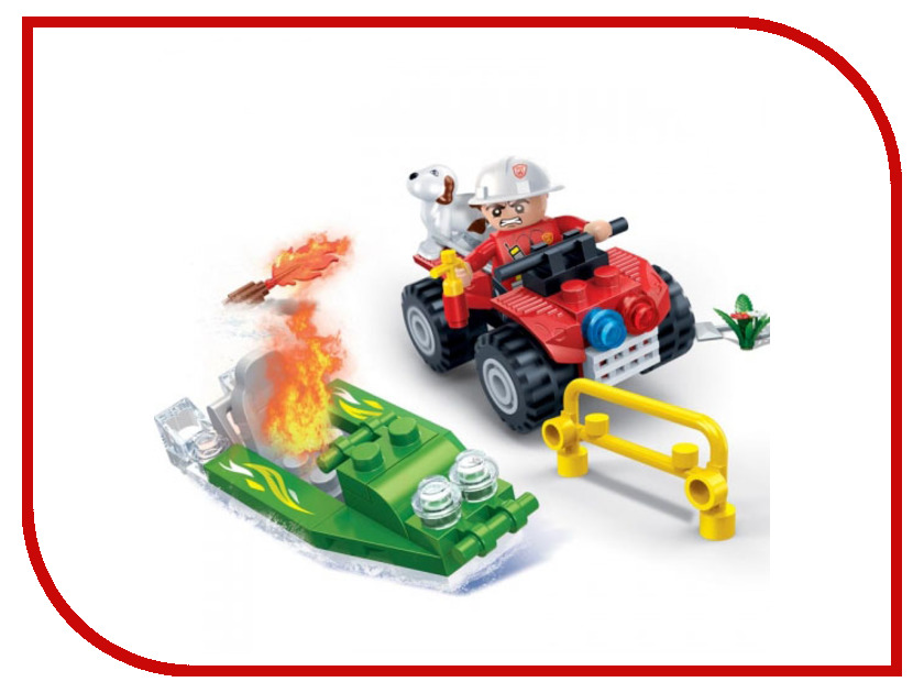 Конструктор Banbao Пожарный джип 62 дет. 7118 / 294093 мазин а в варяг государь