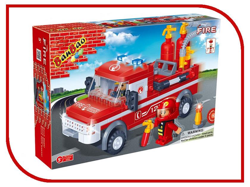 Конструктор Banbao Пожарный джип 158 дет. 8299 / 27624 конструктор banbao пожарный джип 158 элементов 8299