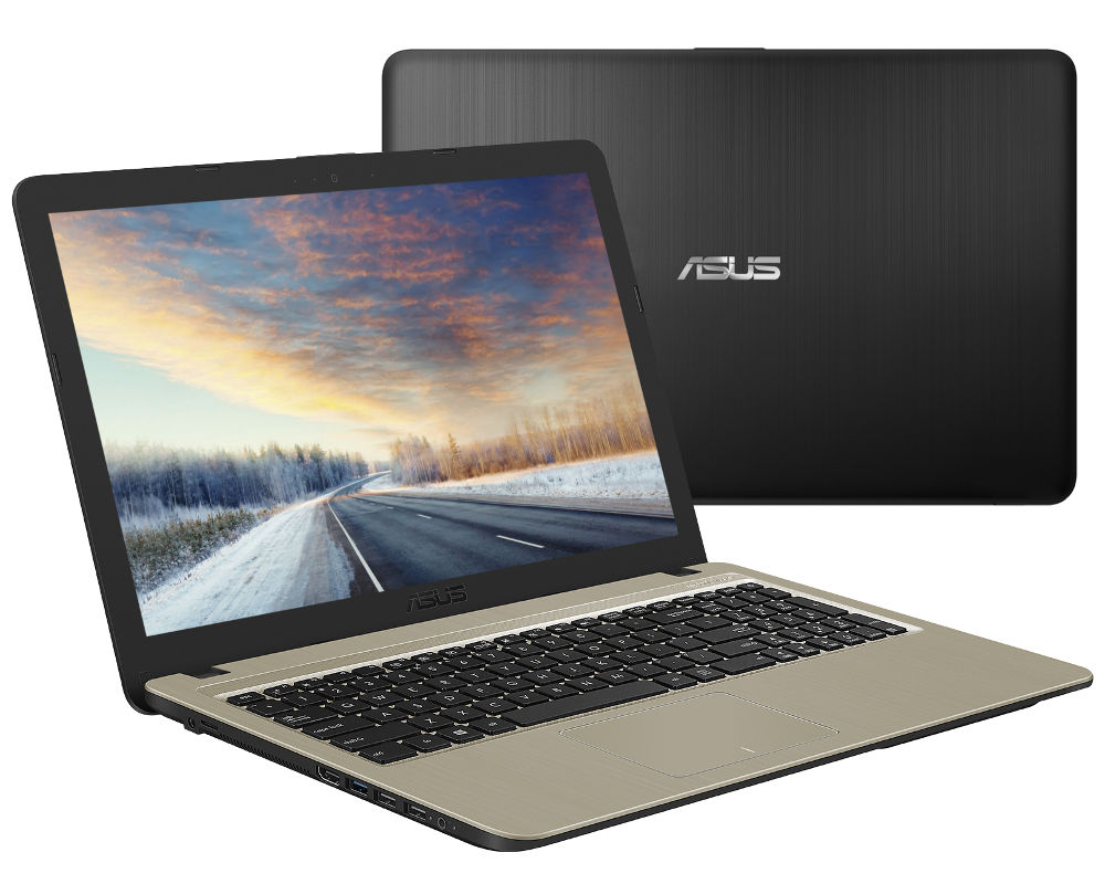 Ноутбук ASUS X540NV-GQ072 90NB0HM1-M01310 (Intel Pentium N4200 1.1 GHz/4096Mb/500Gb/DVD-RW/nVidia GeForce 920MX 2048Mb/Wi-Fi/Bluetooth/Cam/15.6/1366x768/Endless) цена