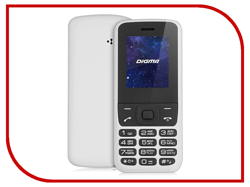 Сотовый телефон Digma LINX A177 2G сотовый телефон digma linx a177 2g
