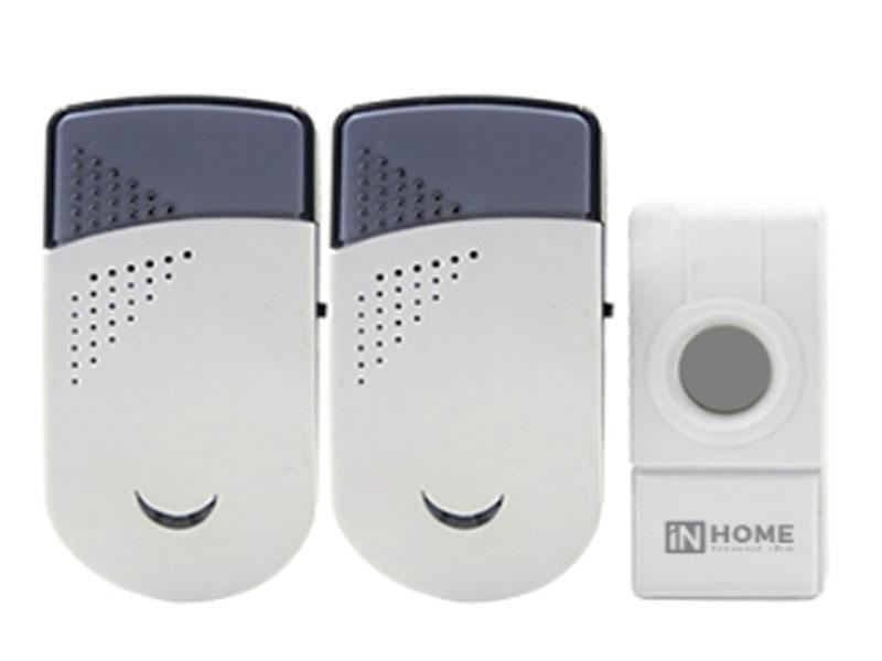 Звонок дверной In Home ЗБН-6 White-Grey