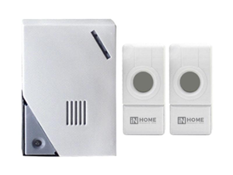 Звонок дверной In Home ЗБН-5 White-Grey