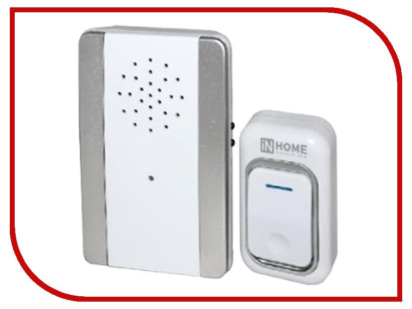 Звонок дверной IN HOME ЗБ-9 Silver-White