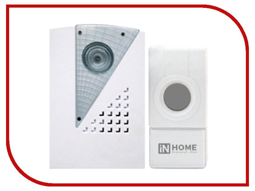 Звонок дверной IN HOME ЗБ-7 White-Grey
