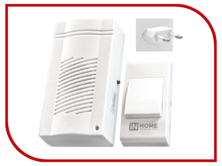 Звонок дверной IN HOME ЗБ-4 White