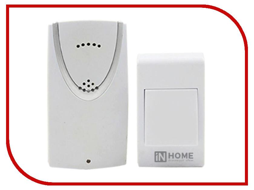 Звонок дверной IN HOME ЗБ-1 White